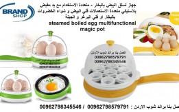 ادوات الطبخ بيض سلق او قلي - صحي جهاز سلق البيض بالبخار 350 وات - متعددة ال