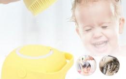 ليفة الاستحمام للاطفال او للكبار  مصنوعة من السيليكون لتنظيف الجسم