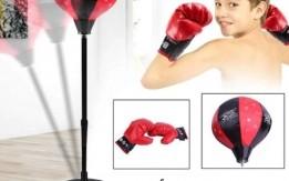 ستاند الملاكمة للأطفال أفضل وسيلة لتطوير المهارات الحركية لطفلك في جو ترفيه
