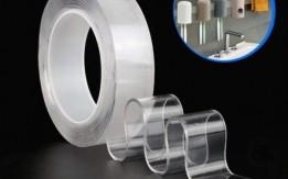 شريط لاصق بتقنية Nano  يتميز بأنه قوي وقابل للغسل والاستخدام متعدد