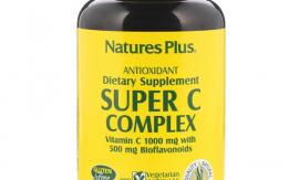 فيتامين سي complex الامريكي والعضوي الطبيعي رافع مناعه بفعاليه وتركيز عالي