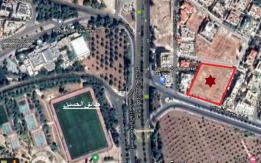 قطعة أرض مقابل حدائق الحسين مميزة جدا للبيع