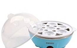 مع غلاية البيض الكهربائية المريحة ، بتصميم صغير وعصري ، يمكنها سلق 7 بيضات