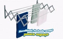 منشر غسيل حائطي قابل للطي يعتبر منشر الملابس هذا خيارا رائعا لتجفيف الملابس