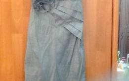 فستان ازرق فضي قصير ، جديد من أمريكا