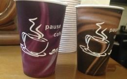 كاسات كرتون للقهوة للبيع بأسعار منافسه وتصاميم رائعه