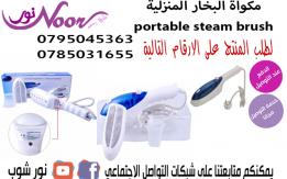 مكواة البخار المنزلية portable steam brush