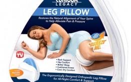 وسادة الأرجل العظمية للمساعدة في التخفيف من آلام الظهر والورك والساق